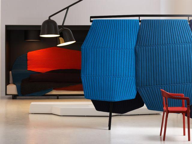 """""""Paravent"""" bleu, 2008 - Exposition Bouroullec"""