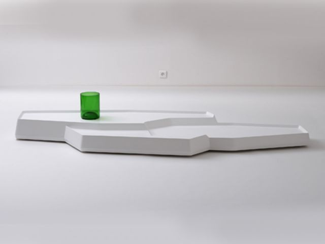 """Table basse """"Banquise"""", 2007 - Exposition Bouroullec"""