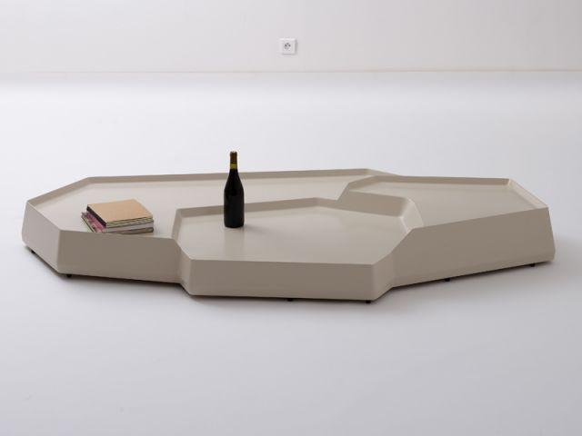 """Table basse """"Rizière"""", 2007 - Exposition Bouroullec"""