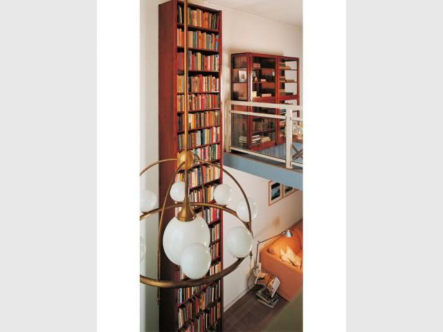 Bibliothèque haute - Bibliothèque