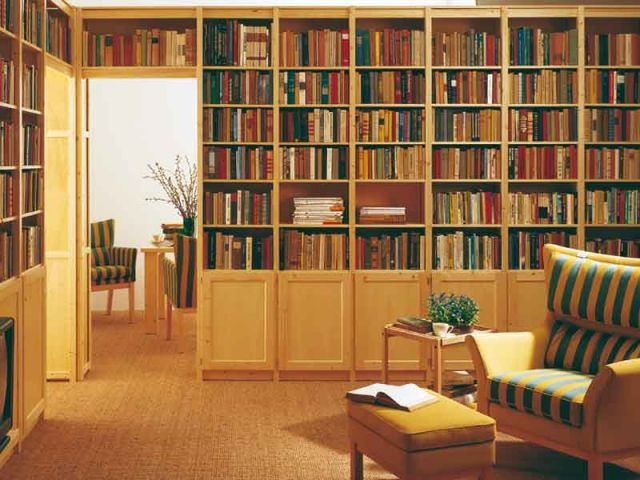 bibliothèque passage Lundia