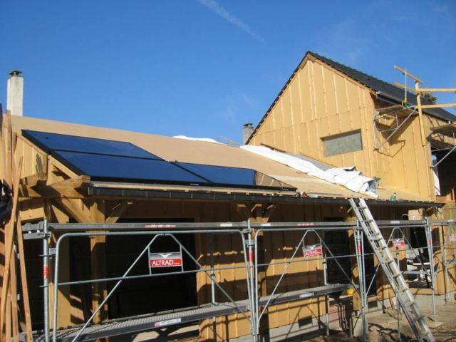 Capteurs photovoltaïques - Maison solaire