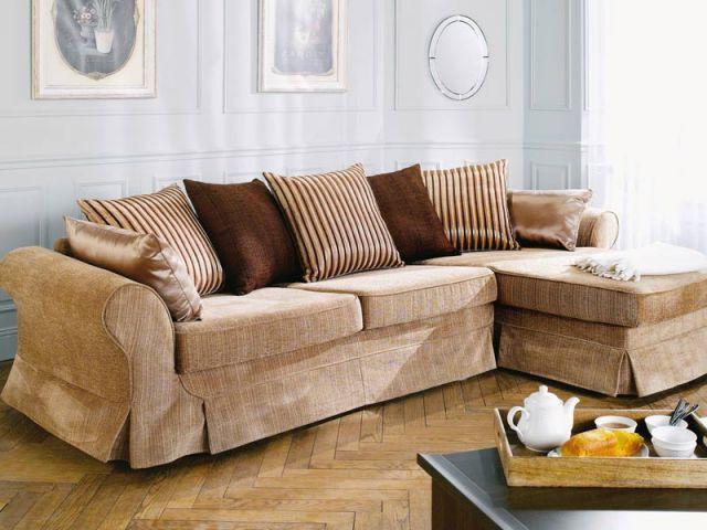 Canapé couleurs naturelles - Canapé salon