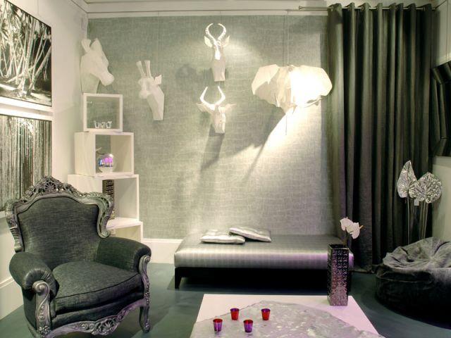 Un cabinet de curiosités - Bineau Maison par Cendrine Dominguez