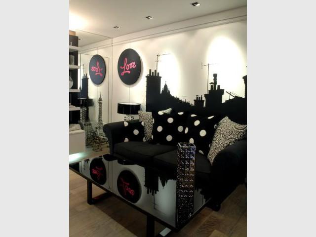 Le studio Black and White - Bineau Maison par Cendrine Dominguez