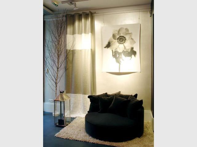 Petit boudoir - Bineau Maison par Cendrine Dominguez