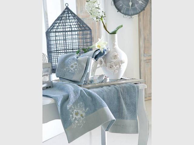 Linge de maison drap de bain serviette