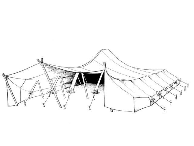 Tente de nomades en Algérie - Vitra Design Museum