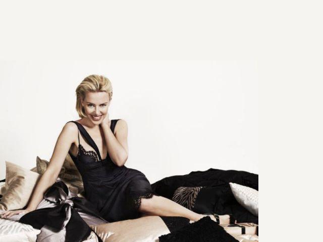 """Kylie Minogue - Linge de maison """"Kylie at home"""""""
