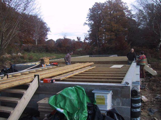 reportage limoge chantier - maison bois - ODTM construction - étape 5