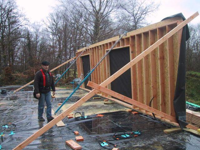 reportage limoge chantier - maison bois - ODTM construction - étape 11