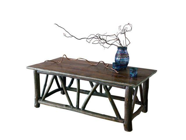 shopping bois - la redoute - table