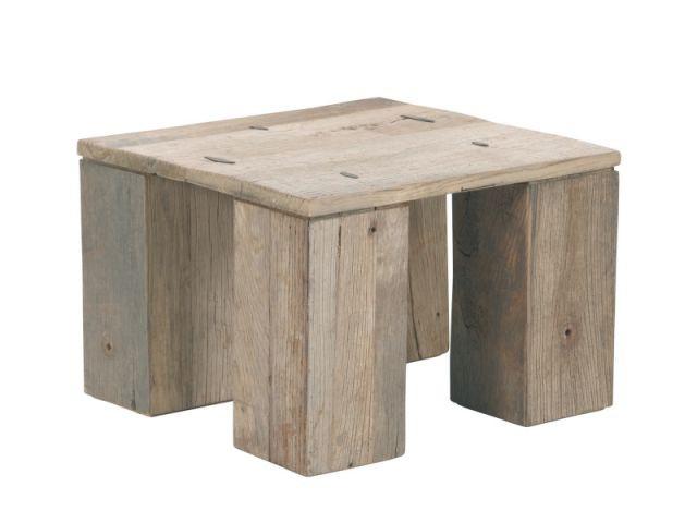 shopping bois - Table basse - Hanjel Mobilier