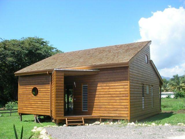 Entrée de la maison - Maison bois Guadeloupe - Laurent Darviot