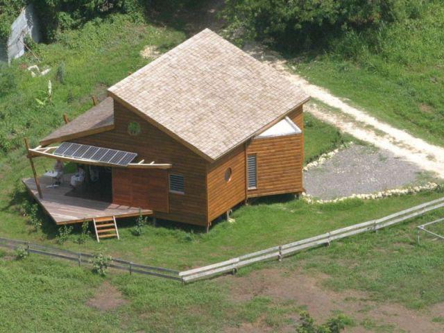 Pieux en bois - Maison bois Guadeloupe - Laurent Darviot