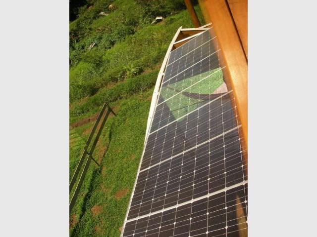 Panneaux photovoltaïques - Maison bois Guadeloupe - Laurent Darviot