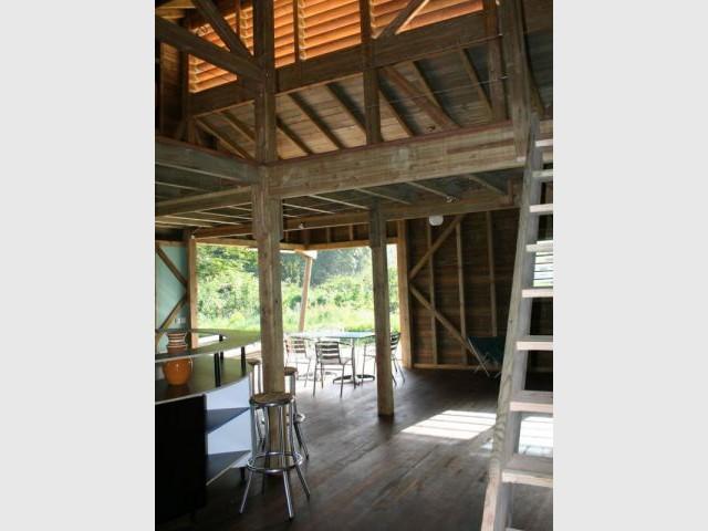 Pièce à vivre - Maison bois Guadeloupe - Laurent Darviot