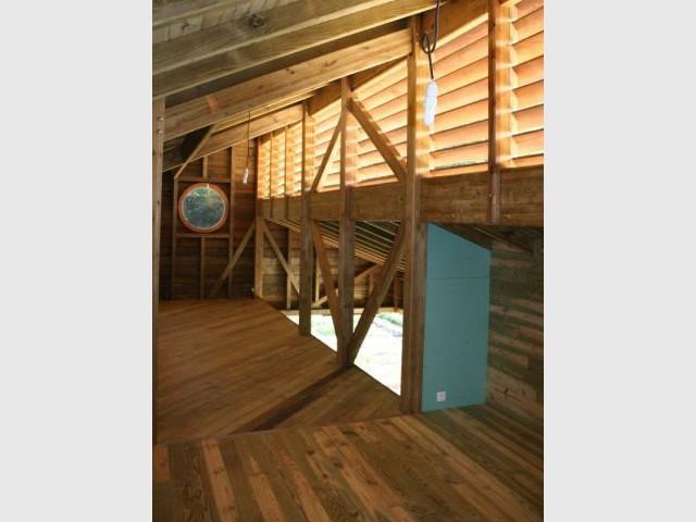 Mezzanine - Maison bois Guadeloupe - Laurent Darviot