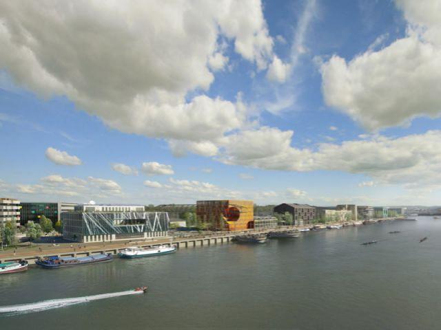 """Opération """"Dock 1"""" Quai Rambaud - rives creatives cité de l'architecture"""