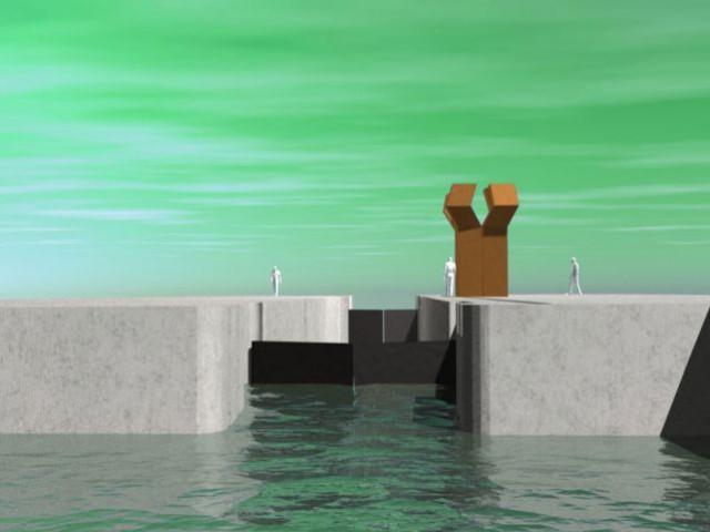 Une main mise sur le paysage - rives creatives cité de l'architecture