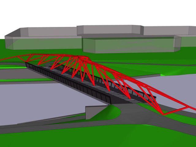"""""""Dancing bridge"""" - rives creatives cité de l'architecture"""