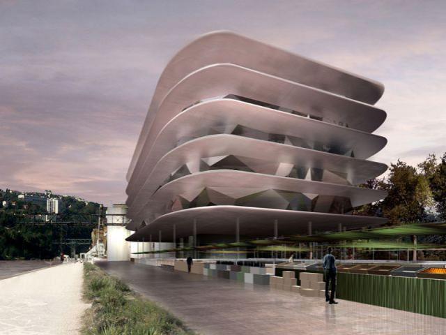 Dans la douceur des plateaux de béton - rives creatives cité de l'architecture
