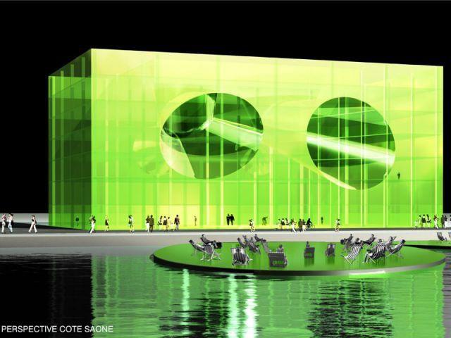Vue perçante - rives creatives cité de l'architecture