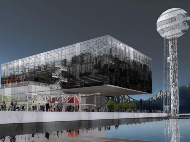 Une question de point de vue - rives creatives cité de l'architecture