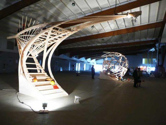 Expo n'en ciel - defis du bois 2008