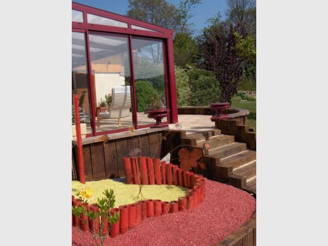 Massif gauche - Cardinal Jardin paysagiste-designer