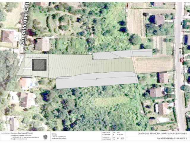 Plan d'ensemble - Gîte urbain