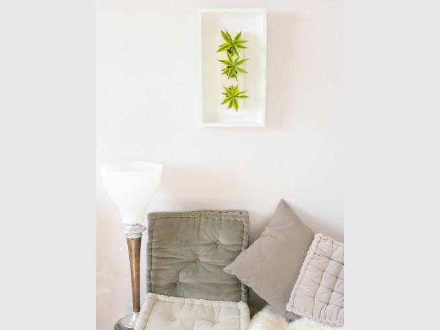 Dans la chambre - Flowerbox décoration plante mur