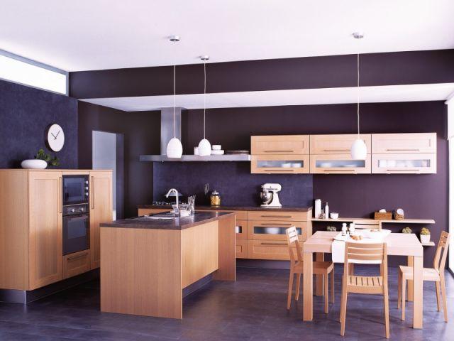 cuisines 2008 bois et couleurs l 39 honneur. Black Bedroom Furniture Sets. Home Design Ideas