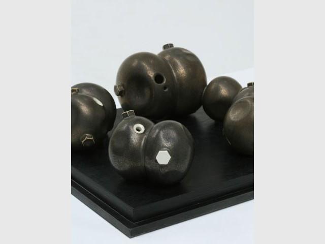 Temps modernes bronze - Grégoire Scalabre céramique