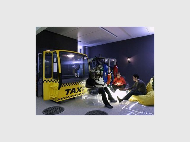 Cabine taxi - google bat
