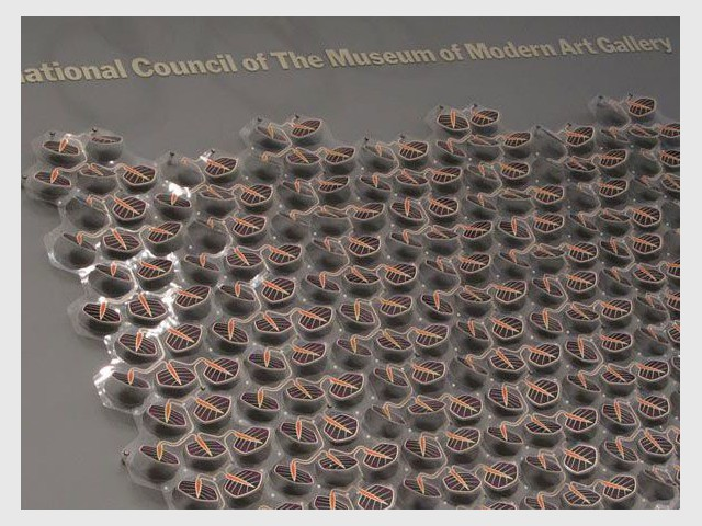 Grow.1 exposé au MoMA - Grow de Smit lierre solaire