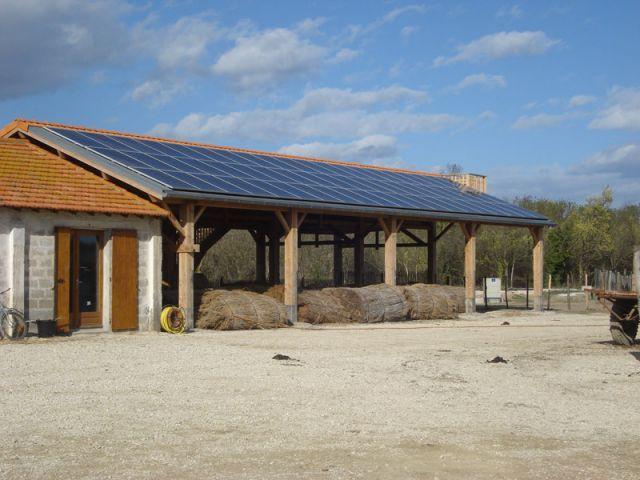 Panneaux solaires - maraisvigueirat