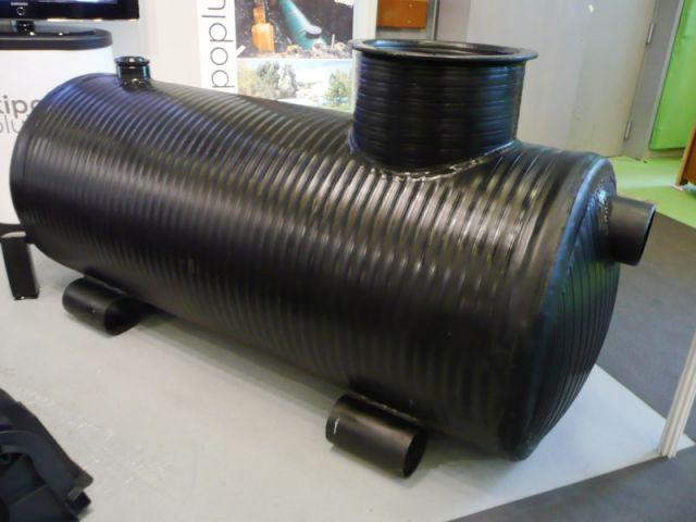 récupération d'eau de pluie - salon écobat 2008