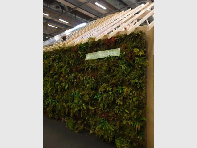 Mur végétal - salon écobat 2008