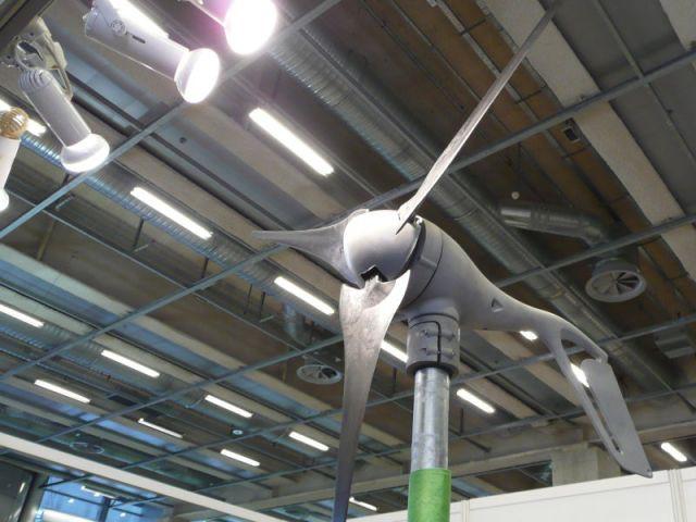 éolienne - salon écobat 2008