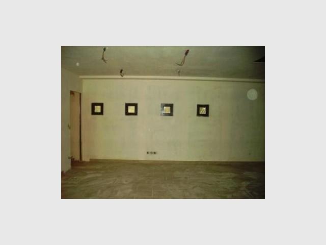 Le sous-sol avant travaux - reportage Home Cinema - Abso