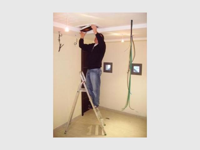 Le câblage - reportage Home Cinema - Abso