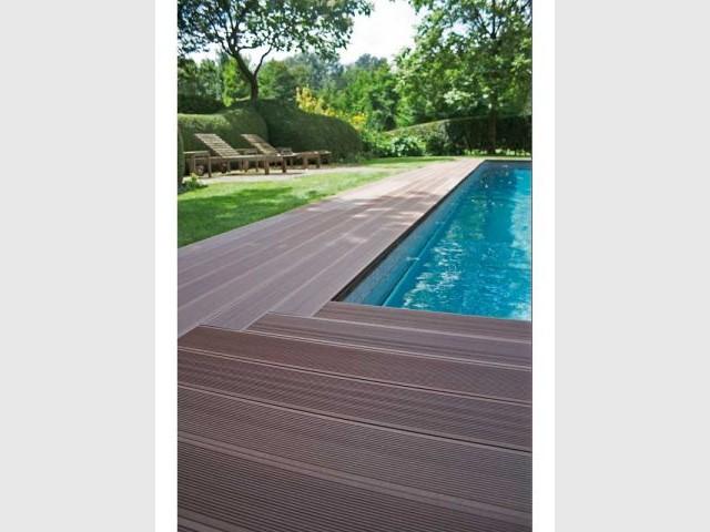 Lames extérieures en bois composite - Trophées de la maison 08