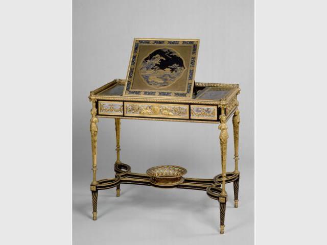 table à écrire Marie Antoinette