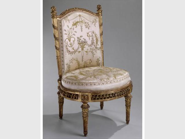 Chaise pavillon Petit trianon