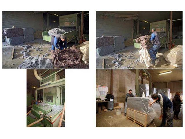 Transformation en usine - Le Relais - isolant métisse