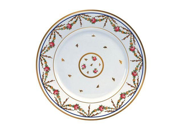 Assiette à gâteau - Création Raynaud