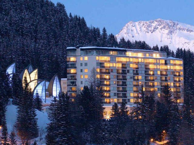 Hôtel 5 étoiles Tschuggen Bergoase