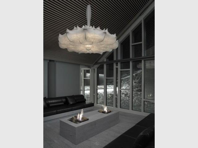 Salon de détente - Hôtel 5 étoiles Tschuggen Bergoase