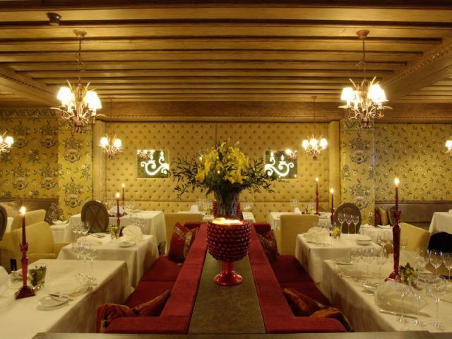 Restaurant - Hôtel 5 étoiles Tschuggen Bergoase